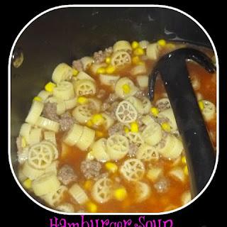 Hamburger Soup With Macaroni And Tomato Soup Recipes