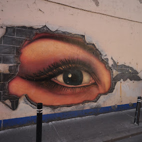The eye of Galway! by Ethan Fox Miles - City,  Street & Park  Street Scenes