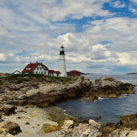 Portland head light by Joe Fazio - Buildings & Architecture Public & Historical (  )