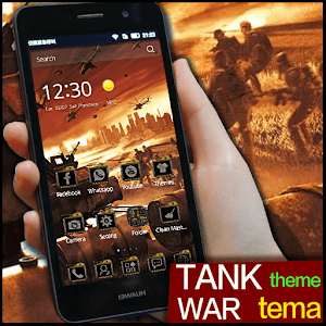 military tank weapon theme for Android
