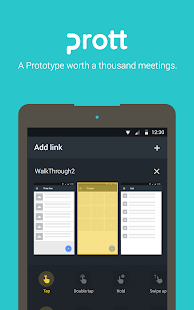 Prott - Rapid Prototyping Tool Screenshot