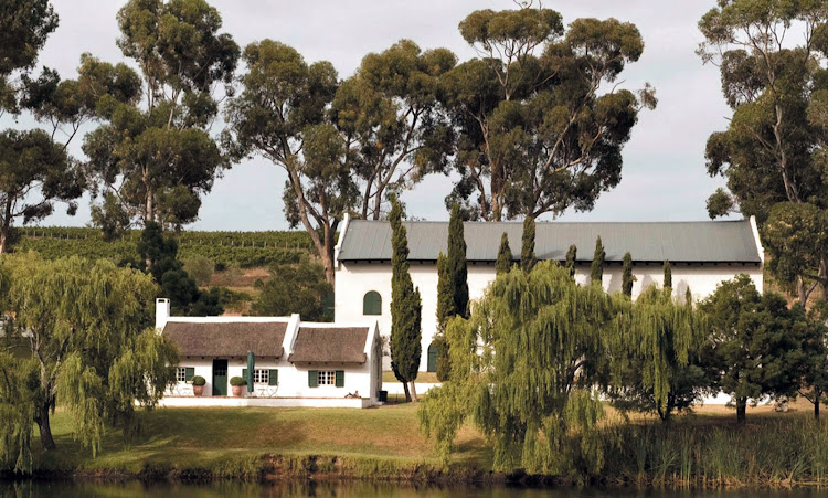 The Hamilton Russell Vineyards tasting room