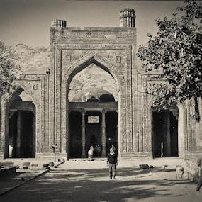 Ek Din Ka Jhopra (Ajmerh-Rajsthan) by Sankha Ghose - Buildings & Architecture Public & Historical