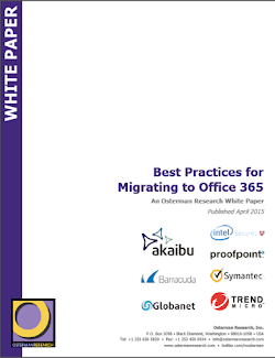 best practices from migrating to Office 365