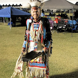 celebrate tradition by Edward Fritzius - People Fashion ( elder, regalia, traditional, fashon, tribal )