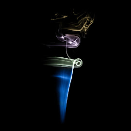 Twists and turns by Ewald Gruescu - Abstract Macro ( gruescu, ewald, romania, timisoara, smoke, photography )