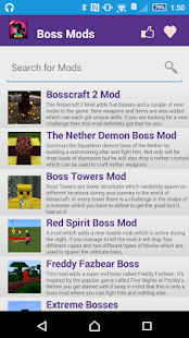 Free Boss Mod For MCPE` APK