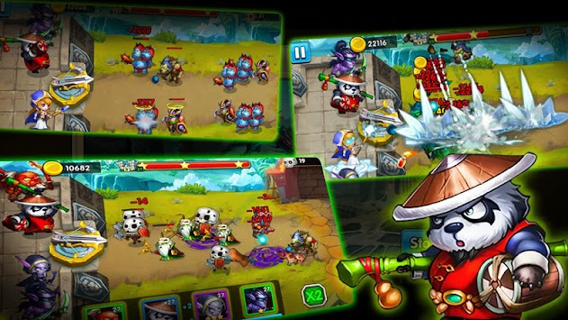 Defender Heroes: Castle Defense TD APK screenshot thumbnail 4