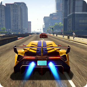 Traffic Car Fast Racing Icon