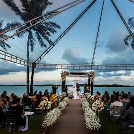 Backyard Wedding by David Terry - Wedding Ceremony ( brazil, maceio )