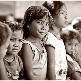 kami happy! by Tuty Ctramlah - Babies & Children Child Portraits
