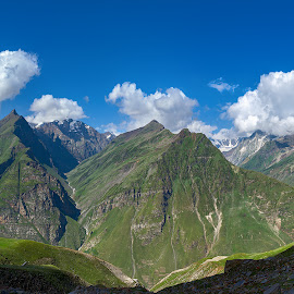 Peaks of Rohtang, Manali 2016 by Manabendra Dey - Landscapes Mountains & Hills ( rohtang, manali )