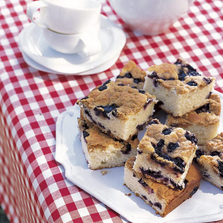 Blueberry-Buttermilk Coffee Cake Recipe | Yummly