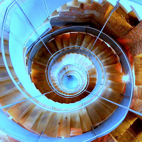 spiral stairs by Craig Skinner - Uncategorized All Uncategorized