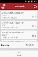Screenshot of SIB M-Pay