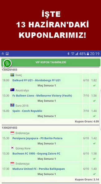 VIP Betting Tips: Premium Tips Screenshot 3