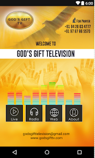 GodsGiftTv - screenshot