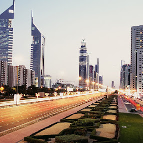 DUBAI, 10 Years ago by Praveen Chand - City,  Street & Park  Skylines ( pwc83: night light )