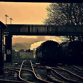 A  cold  start by Gordon Simpson - Transportation Trains