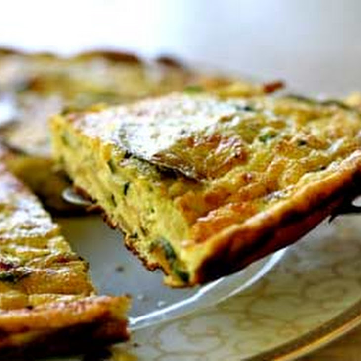 frittata with zucchini tomatoes feta and herbs zucchini and ricotta ...