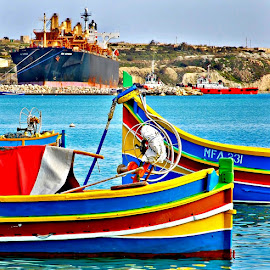 The Beauties And The Beast by Francis Xavier Camilleri - Transportation Boats