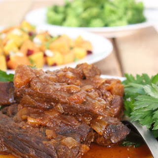Boneless Crockpot Pork Ribs (or Beef Ribs)