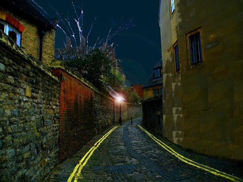 by Dorota Grolewska - City,  Street & Park  Street Scenes