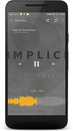 Music Player Mezzo Pro 2017.07.01 beta APK