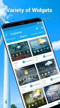Amber Weather Elite APK screenshot thumbnail 6