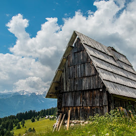 by Mario Horvat - Buildings & Architecture Other Exteriors ( sky, barn, old, rural, cabin, clouds )