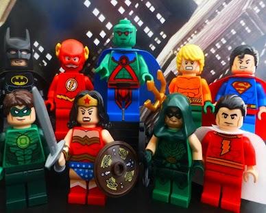 Puzzles Lego Hero Justice APK for Bluestacks