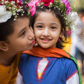 Sisters! by Istiak Mahmud - Babies & Children Children Candids