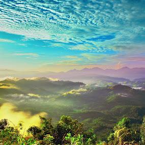 REMIX by Ricky Saputra - Landscapes Mountains & Hills