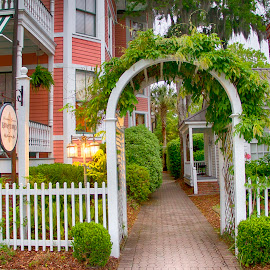 Bed and Breakfast by Keith Wood - City,  Street & Park  Historic Districts ( beaufort, kewphoto, b&b, garden, keith wood )