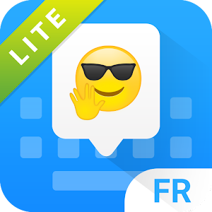 Lite French keyboard for Facemoji Icon