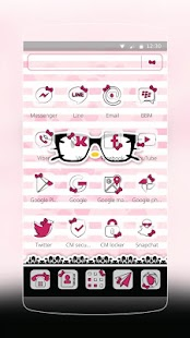 App Pink Kitty Princess Theme apk for kindle fire