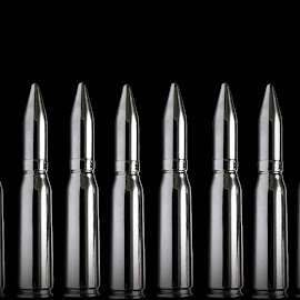 Silver Bullets by Christy Stanford - Artistic Objects Other Objects ( ammunition, weapon, silver, ammo, bullets )