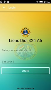 Lions Club District 324A6 - screenshot