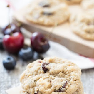 Oatmeal Cookies Red White and Blue