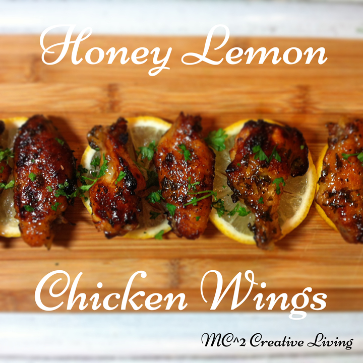 Honey Lemon Chicken Wings Recipe | Yummly