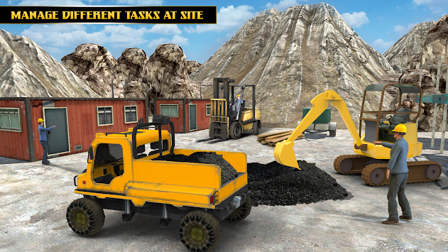 Highway Tunnel Construction & Cargo Simulator 2018 APK screenshot thumbnail 4