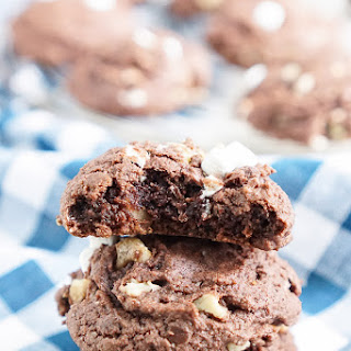 Rocky Road Pudding Cookies