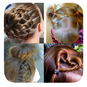 Hairstyles 2017 Games : Cute girl hairstyles 2017 - Android Apps on Google Play