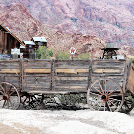 Nelson Ghost Town by Diane Garcia - Transportation Other ( nelson )