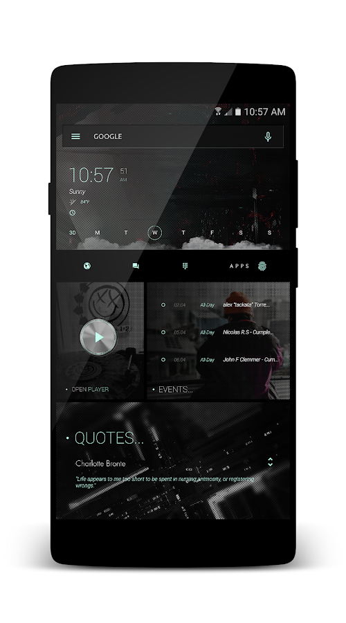 coLLLage for KLWP Screenshot 5