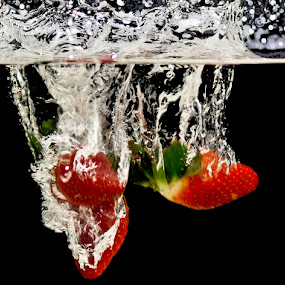 Strawberries by Steven McGregor - Food & Drink Ingredients ( strawberries )