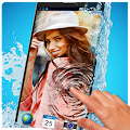 Photo in Water :Live Wallpaper