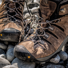 hiking boots by Vibeke Friis - Artistic Objects Clothing & Accessories ( footwear, boots,  )