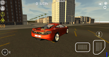 Screenshot of Turbo GT Car Simulator 3D