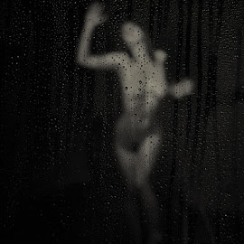 Rain Vision by Jay Anderson - Nudes & Boudoir Artistic Nude